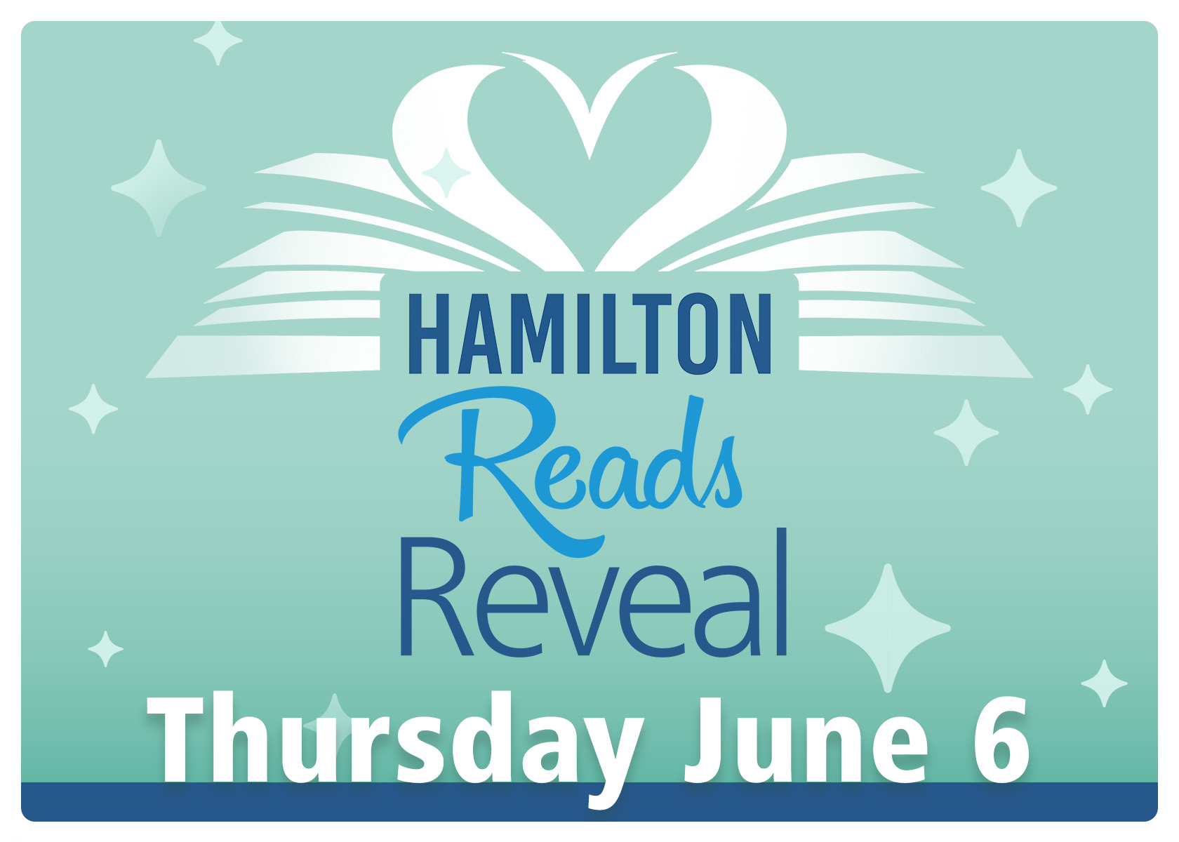 Hamilton Reads 2019 Reveal and Logo