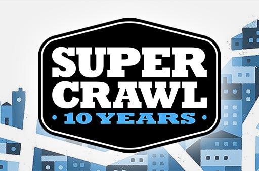 logo of Supercrawl 10 years