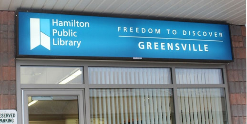 photo of greensville branch of Hamilton Public Library