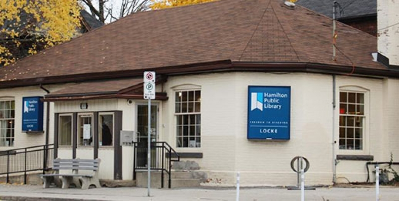 photo of locke branch of hamilton public library