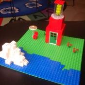 a LEGO Backyard
