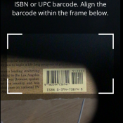 Search by ISBN or UPC.