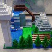a LEGO landscape