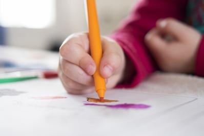 Child drawing