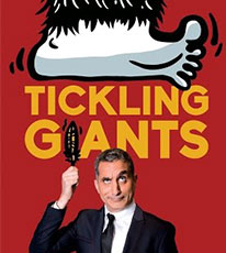 movie poster of the documentary Tickling Giants